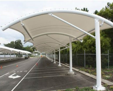 Top Arch Parking Shade