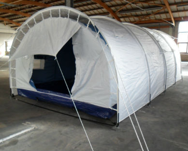 Tunnel Refugee Tent