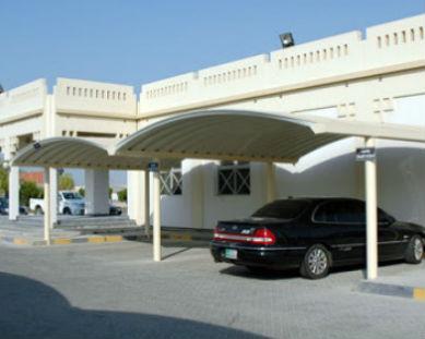 k-span parking shade