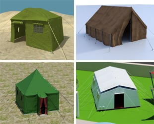 ref tents home product 3d