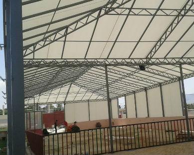 steel tent