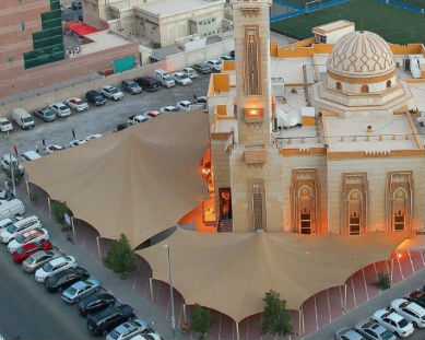tensile - mosque shades