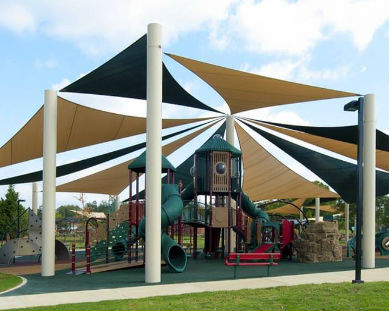 tensile - play area shades